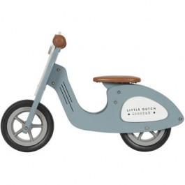 Little Dutch Wooden scooter - Blue