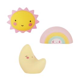 Minis: Sun, Moon, Rainbow