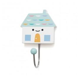 Petit Monkey Ξύλινη Κρεμάστρα για το παιδικό δωμάτιο -  Little house aqua petit monkey, παιδικες κρεμαστρες, παιδικο δωματιο, βρεφικο δωματιο, διακοσμηση παιδικου δωματιου, διακοσμηση