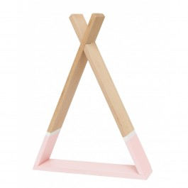 Petit Monkey Tipi shelf - Pink