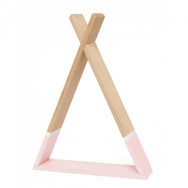Petit Monkey Tipi shelf - Pink