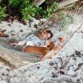 Beach and Bandits Αντιηλιακό μαγιό - Pearls & Palms ΚΟΡΙΤΣΙ