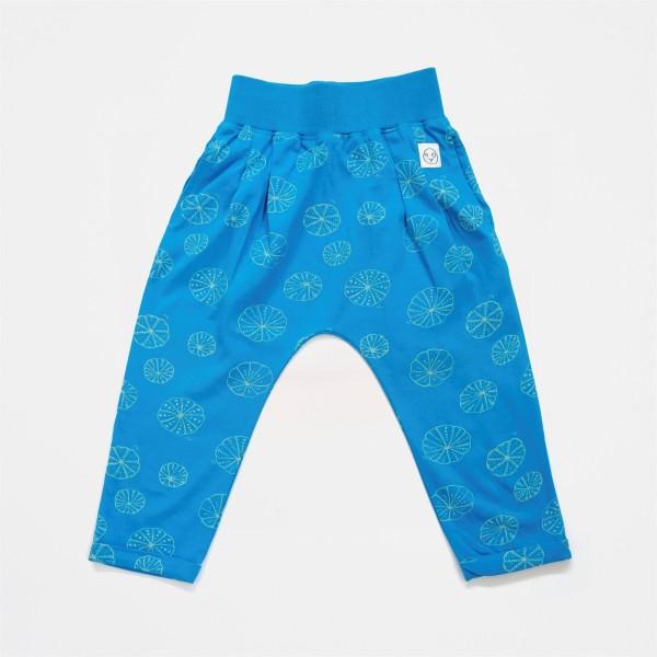 Indikidual Organic Pants - Sea, organic kids clothes, eco friendly kids, organic babies, kids clothes, kids wear,