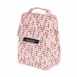 Keep Leaf Lunch Bag -Hearts, insulated bags for food, lunch boxes for food, lunch bags for food, kids accessories, accessories for school,