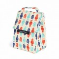 Lunch Box - Robot, organic cotton, kids accessories, food accessories, insulated lunch bags, insulated lunch box, food accessories, keep leaf, eco friendly, organic cotton,
