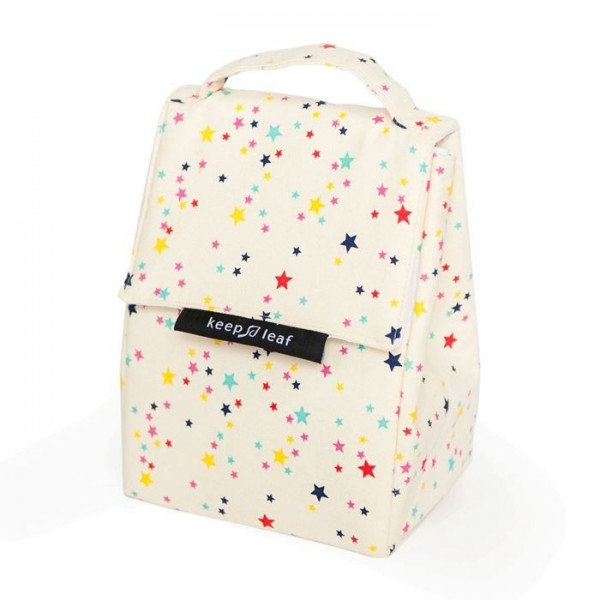 Insulated Lunch Bag - Stars, lunch bags, insulated lunch bags, eco friendly products,