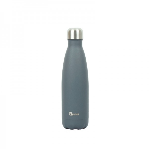 Insulated Stainless Steel Bottle - Granite Grey - 500ml