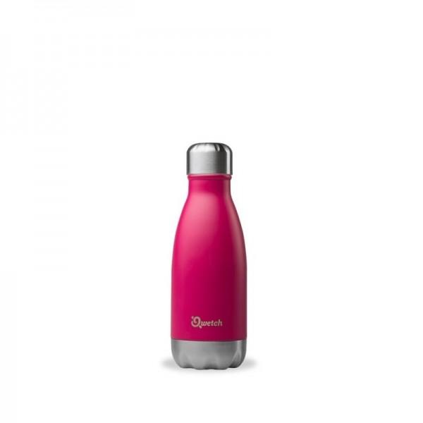 Insulated Stainless Steel Bottle - Magenta - 260ml