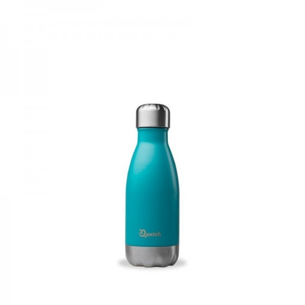 Insulated Stainless Steel Bottle - Turquoise - 260ml