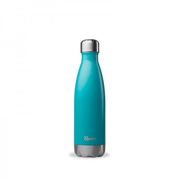 Insulated Stainless Steel Bottle - Turquoise 500 ml
