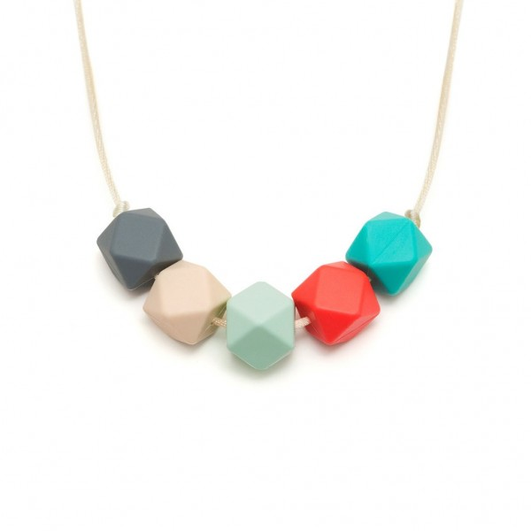 Lara & Ollie Teething Necklace - ISLA, lara and ollie, lara & ollie, teething necklace, eco friendly, stylish jewelry for mums, stylish jewelry,
