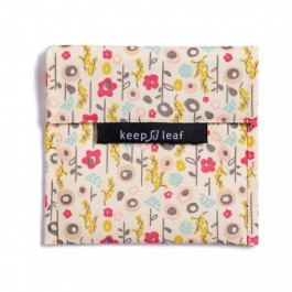 Keep Leaf Large Baggie -Bloom, kids accessories, eco friendly kids accessories, organic accessories,