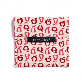 Keep Leaf Large Baggie - New Fruit, organic cotton, kids accessories,