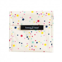 Keep Leaf Large Baggie - Stars, organic cotton, kids accessories,