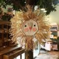 LION CROCHET Natural-PINK FACE