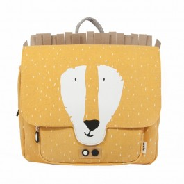 Satchel -  Mr Lion, trixie backpack, eco friendly, kids accessories, bags for school, backpack for kids, backpacks for kindergarten