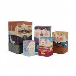 Londji - The original Box Family, londji games, londji toys, londji, paper toys,