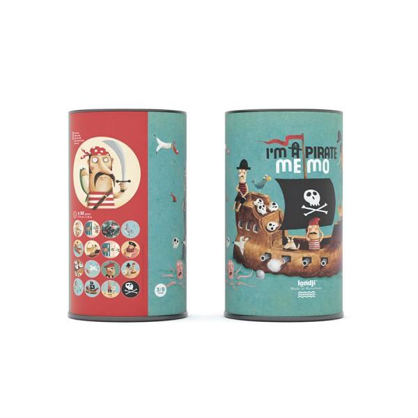 Londji Memo - Pirate, educational toys for kids