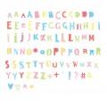Lightbox letter set: Funky - black