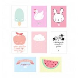 Poster lightbox sheets : little girl