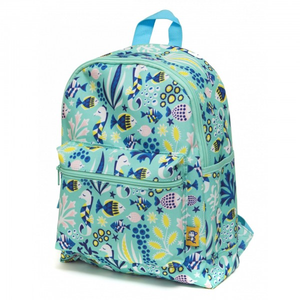 Petit Monkey Backpack - Under the sea, kids backpacks, back to school, accessories for school, bags for kids, petit monkey