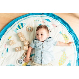 Play and Go Playmat & Storage - Moulin Roty Olga baby