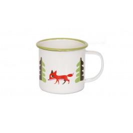 "Enamel Mug ""Fox"""