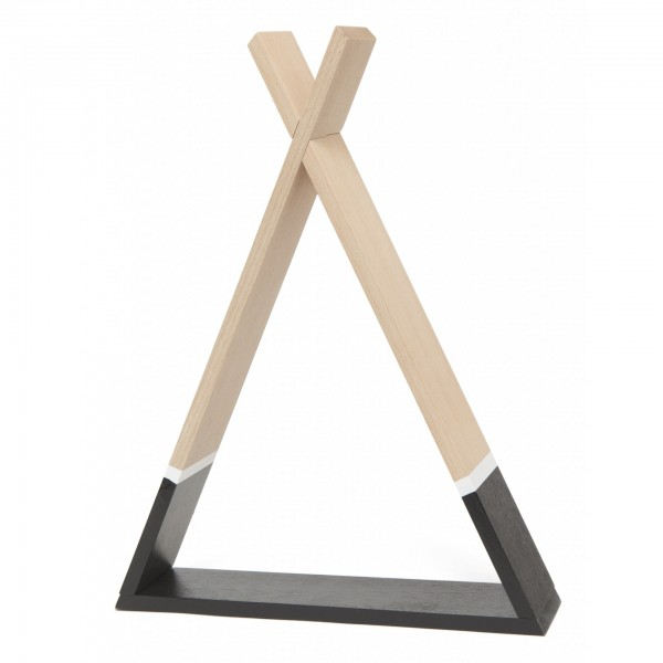 Petit Monkey Tipi shelf - black