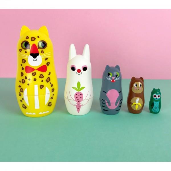 OMM Studio Matryoshka - Animals 3