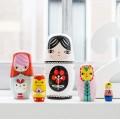 petit monkey, Ξύλινες Κούκλες - Fleur & Friends, μπαμπουσκες, ξυλινες μπαμπουσκες, παιδικα ειδη, οικολογικα παιχνιδια, ξυλινα παιχνιδια,