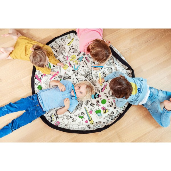 Play & Go storage bag and playmat - OMY, play and go - omg, kids room,