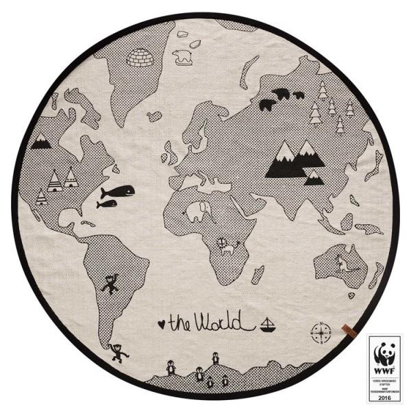 Kids Rug - The World