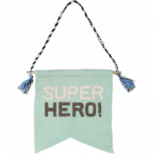 decorative hanger - Super hero