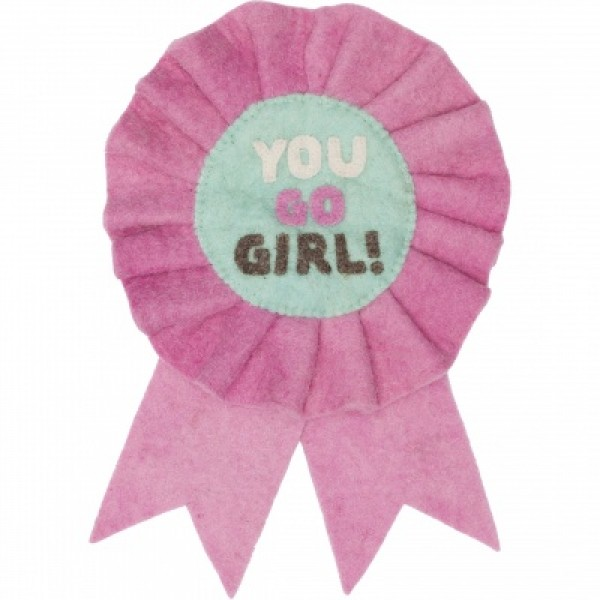 decorative hanger - you go girl