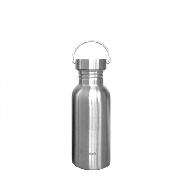 Plastic Free Stainless Steel Bottle - 500ml