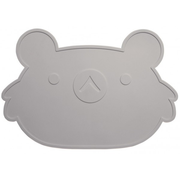 Petit Monkey Koala placemat grey
