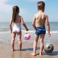 Quut. Κουβαδάκι άμμου σε μπάλα μικρό (ροζ-κίτρινο)
