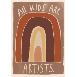 Studio Loco Poster - All Kids are artists