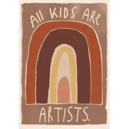 Studio Loco Poster - All Kids are artists