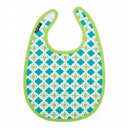 Baby Bib - Tiles, baby accessories, eco friendly,
