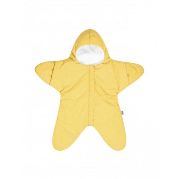 Baby Bites Sleeping Bag Star - Yellow