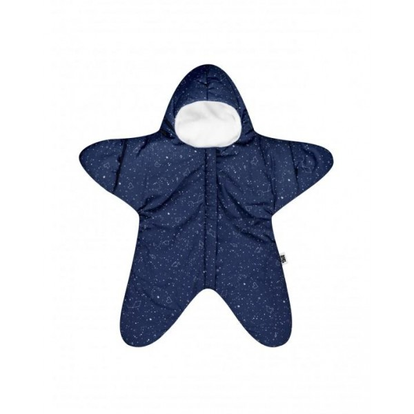 Baby Bites sleeping bags -Star Navy blue, sleeping bags, fish, babies accessories, accessories for sleep, gift for newborns