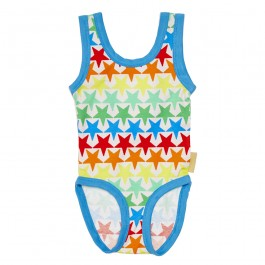 Organic Swimsuit - Stars, organic clothes for kids, organic kids wear, clothes by organic clothes, stylish kids clothes,