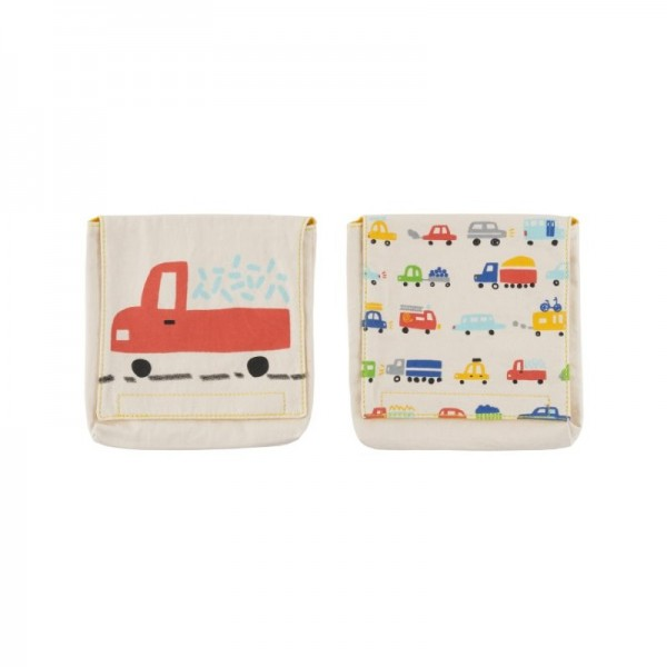 Fluf Organic Snack Packs set of 2 -  cars