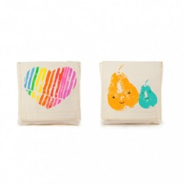 Fluf Organic Snack Packs set of 2 - MamaLove