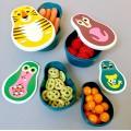 Matryoshka Animal Snack Box set