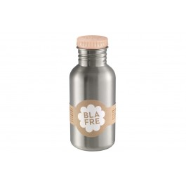 blafre Steel Bottle 500ml - Peach, bottle for the water, back to school, accessories for kids, blare, bpa free