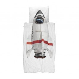 snurk duvet cover - Rocket, snurk, eco friendly kids, snuck duvet cover, snuck organic, cowmakesmoo,