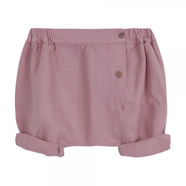 Buttoned Trouser Pink Flamingo