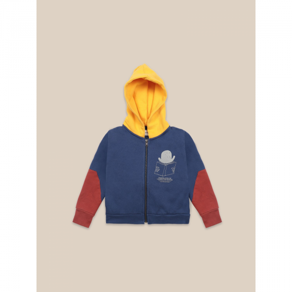 Bobo Choses zipped hoodie - TRANSLATOR